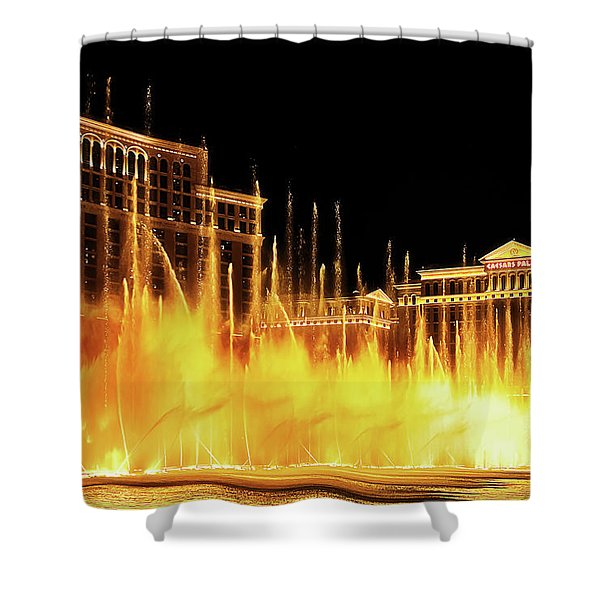 Dancing Water Shower Curtain