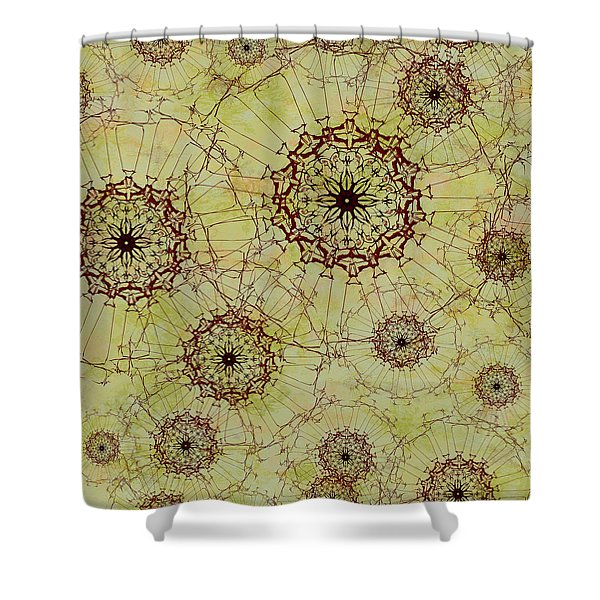 Dandelion Nosegay Shower Curtain