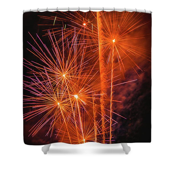 Dandilion Wannabes Shower Curtain