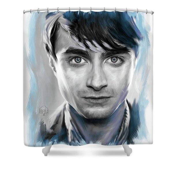 Daniel Radcliffe As Harry Potter Shower Curtain