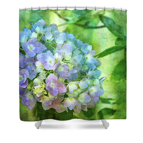 Dappled Light Hydrangea 2300 Idp_2 Shower Curtain