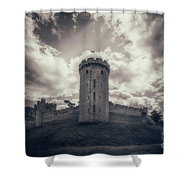 Dark Ages Shower Curtain