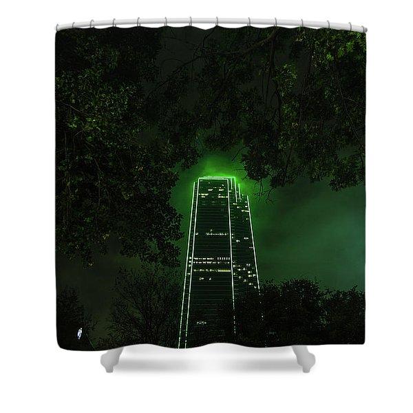 Dark Matter Shower Curtain