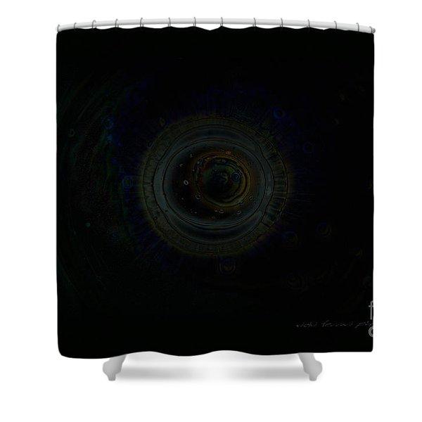 Dark Spaces Shower Curtain