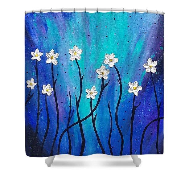 Dark Willow  Shower Curtain