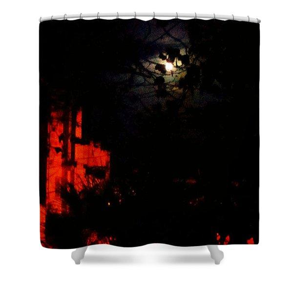 Darkness Shower Curtain