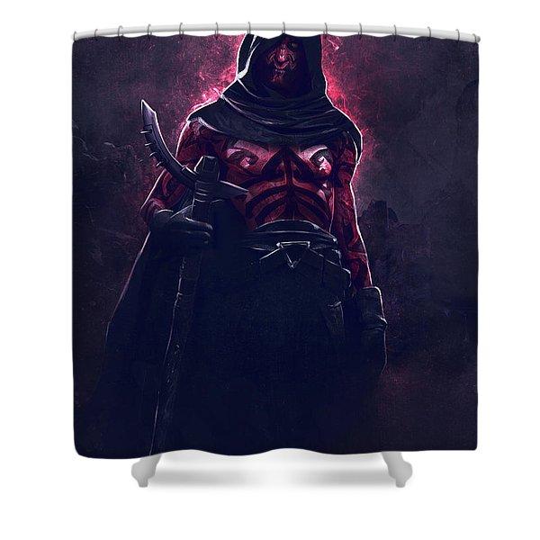 Darth Maul Shower Curtain