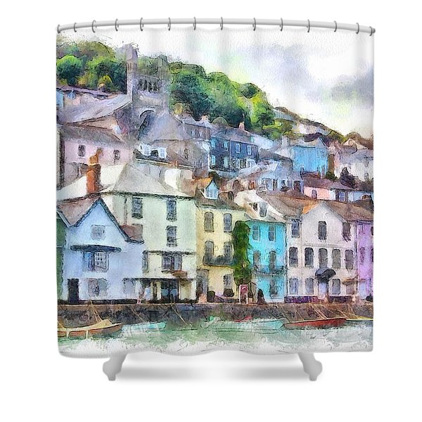 Dartmouth Devon England Shower Curtain