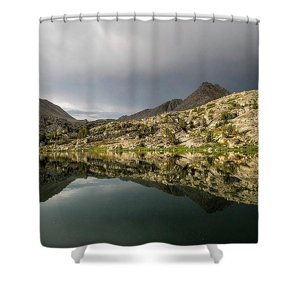 Darwin Lake Shower Curtain