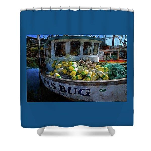 Das Bug Shower Curtain