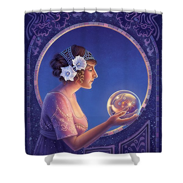 Datura - True Motives Shower Curtain