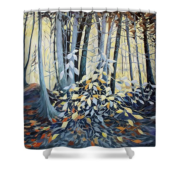 Natures Dance Shower Curtain