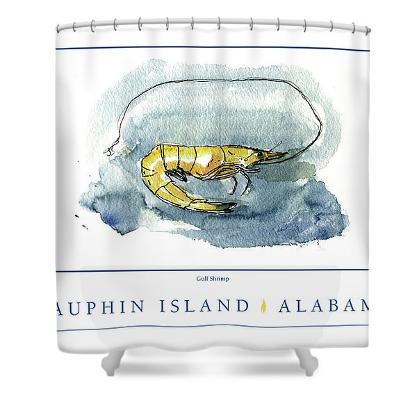 Dauphin Island, Alabama Shower Curtain