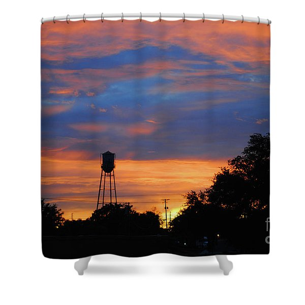 Davenport Tower Shower Curtain