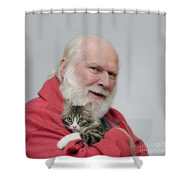 David And Ms Alexia  Square Shower Curtain