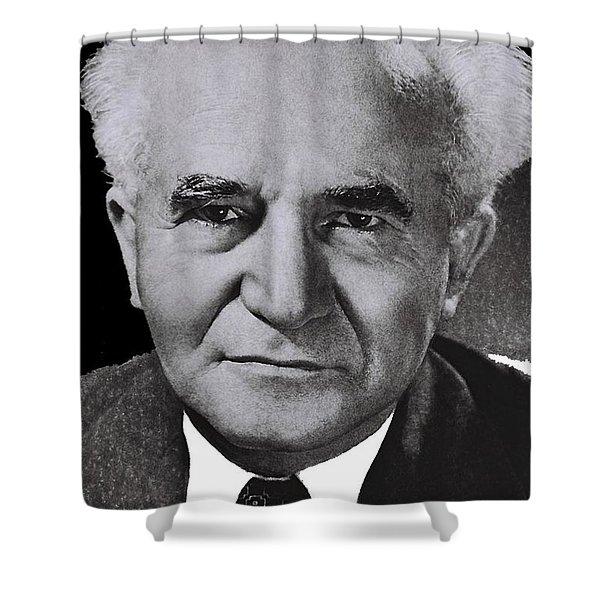 David Ben-gurion 1949-2015 Shower Curtain