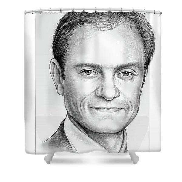 David Hyde Pierce Shower Curtain