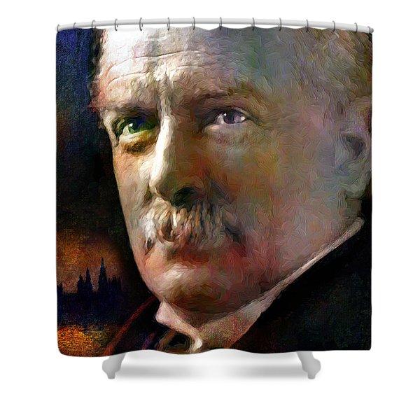 David Lloyd George Shower Curtain