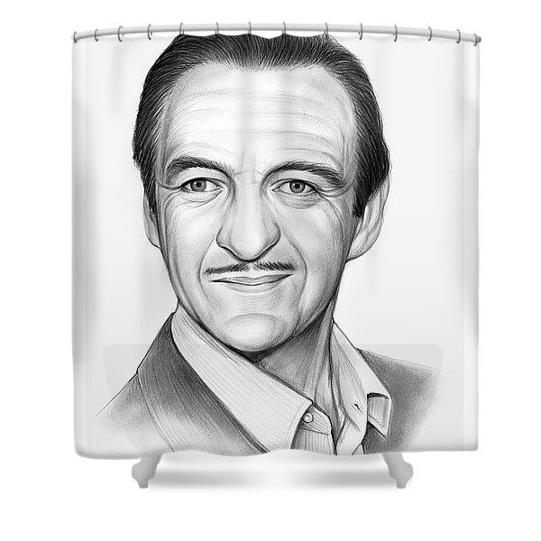 David Niven Shower Curtain