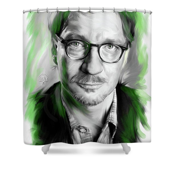 David Thewlis As Remus Lupin Shower Curtain