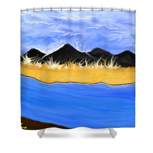 David This One's For You Shower Curtain