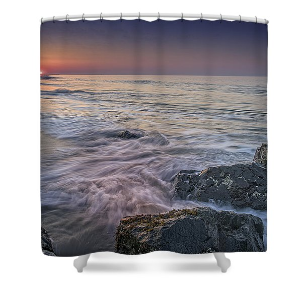Dawn Breaks At Cape May Shower Curtain