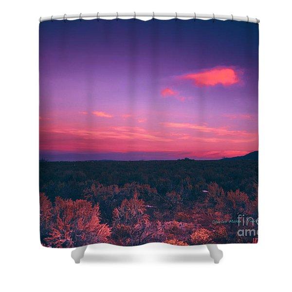 Dawn In Taos Shower Curtain