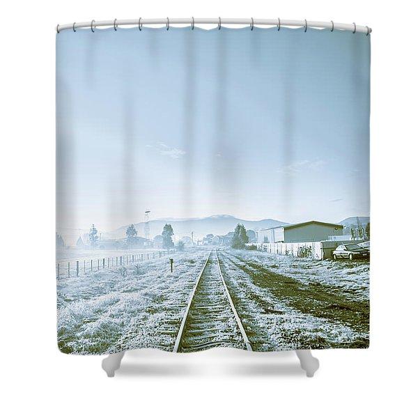 Dawn Line Shower Curtain
