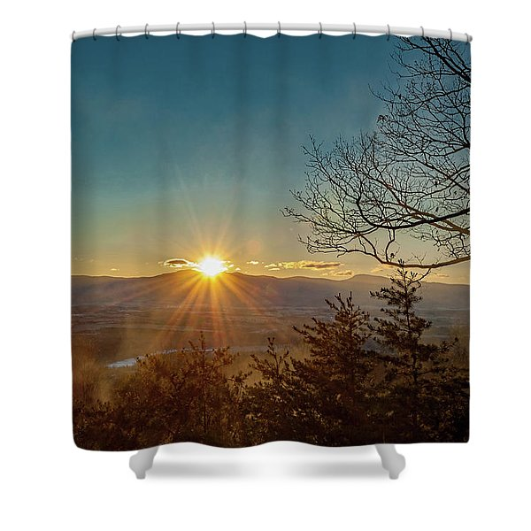 Dawn Of A New Year Shower Curtain