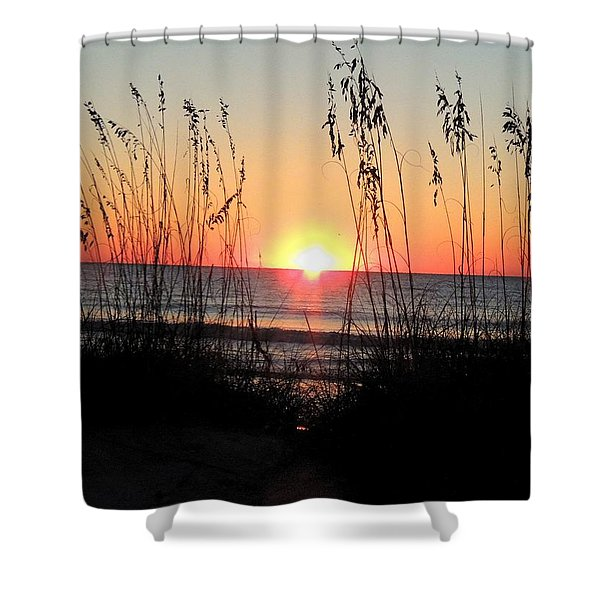 Dawn Of The Eclipse Shower Curtain