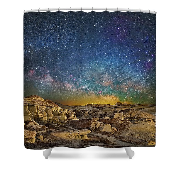 Dawn Of The Universe Shower Curtain