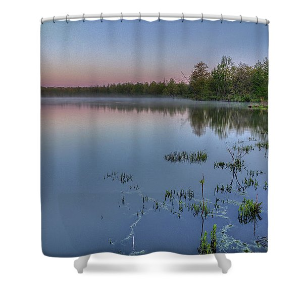 Dawn Over North Bay Shower Curtain