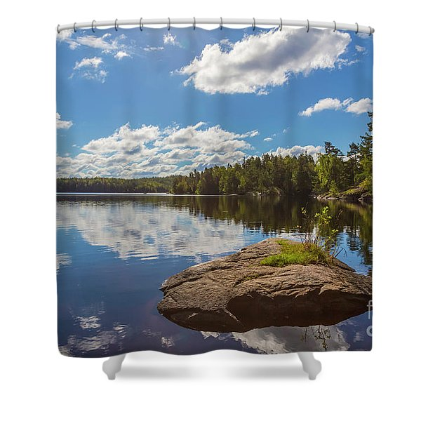 Day Of September Shower Curtain
