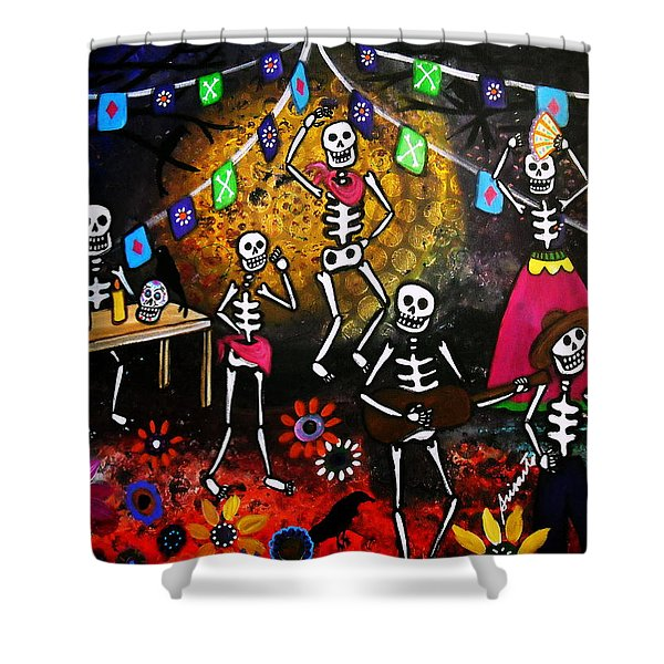Day Of The Dead Festival Shower Curtain