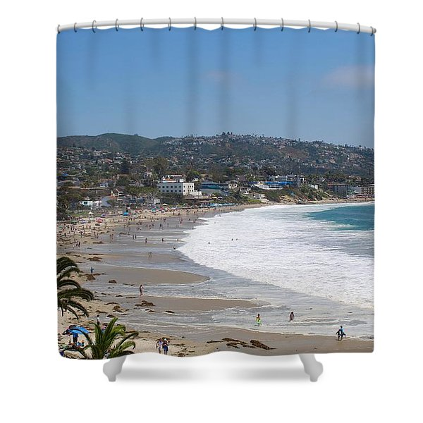 Day On The Beach Shower Curtain