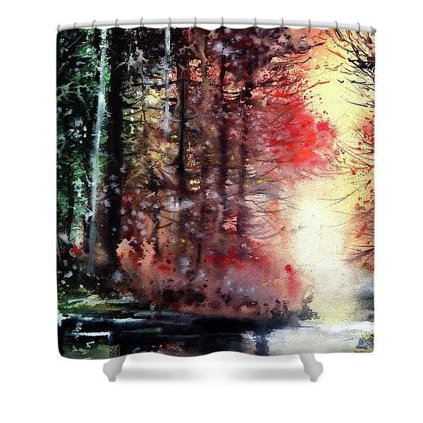 Daybreak 2 Shower Curtain