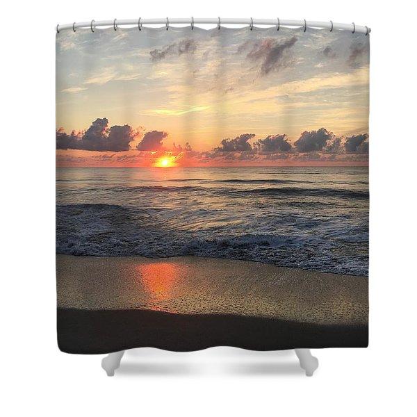 Daybreak At Cocoa Beach Shower Curtain