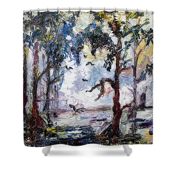 Daybreak In The Okefenokee Shower Curtain