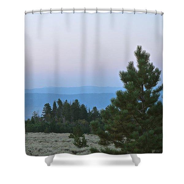 Daybreak On The Mountain Shower Curtain