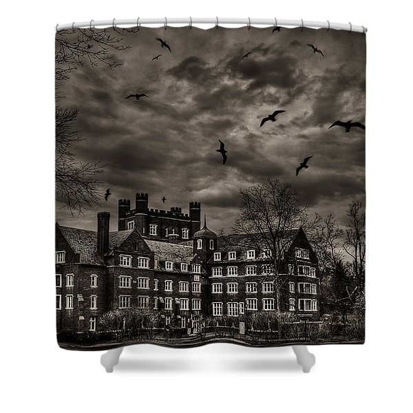 Daydreams Darken Into Nightmares Shower Curtain