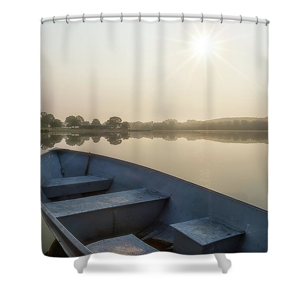 Shower Curtain featuring the photograph Daylight by Heather Kenward