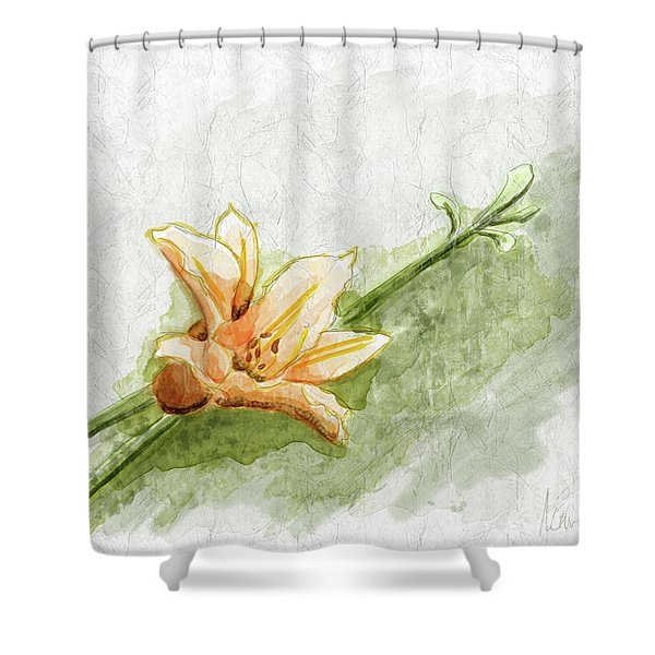 Daylily #1 Shower Curtain