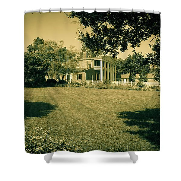 Days Bygone - The Hermitage Shower Curtain