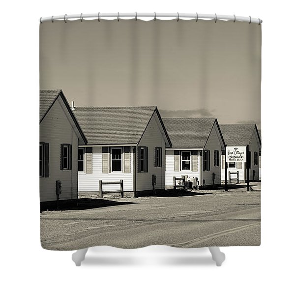 Day's Cottages Or The Flower Cottages Of Cape Cod Shower Curtain