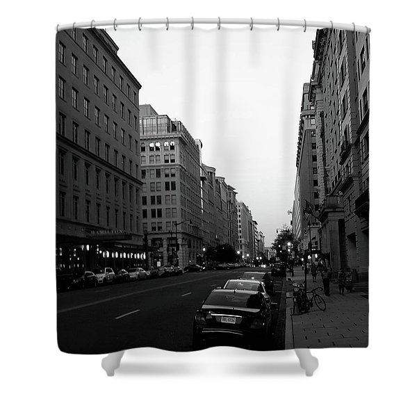 Dc Afternoons Shower Curtain