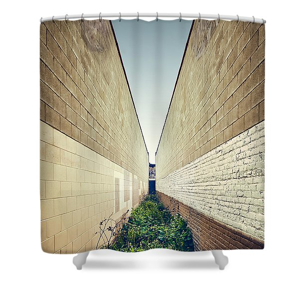 Dead End Alley Shower Curtain