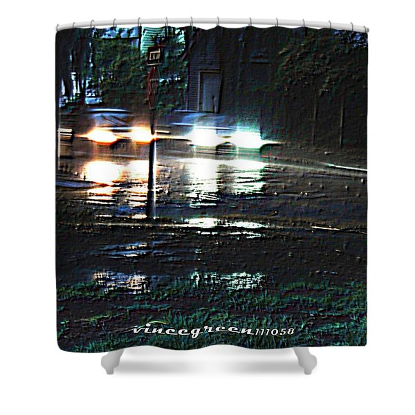 Dead Heat Shower Curtain