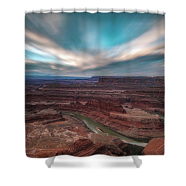 Deadhorse Point Sunrise Shower Curtain