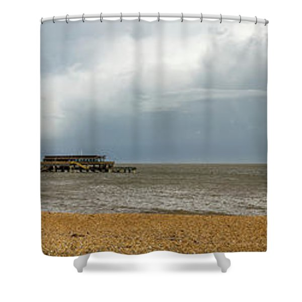 Deal Pier Shower Curtain