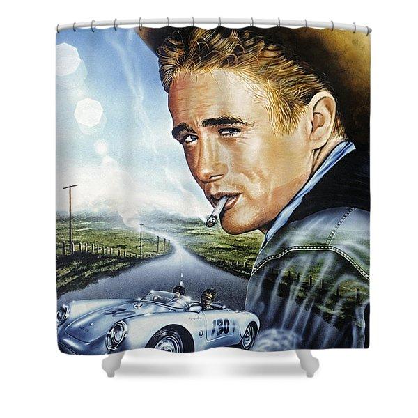 Dean Story Shower Curtain